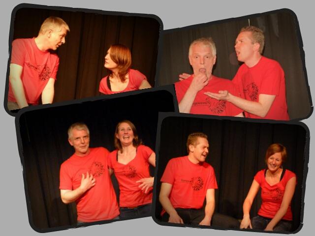 Fotogalerie: Impro-Show in der Brunsviga vom 27.11.2012