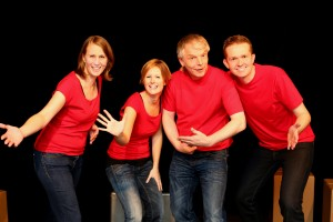 Das Ensemble: Nina, Doro, Thomas und Fabian