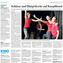 Presseartikel: Braunschweiger Zeitung vom 27.05.2013 über unsere Show in der Brunsviga