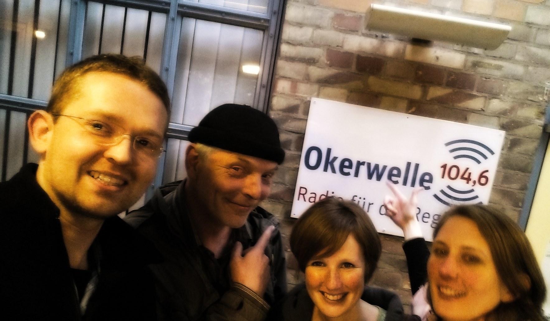 Radiointerview: Aufzeichnung – 4gewinnt Improtheater zu Gast bei Radio Okerwelle