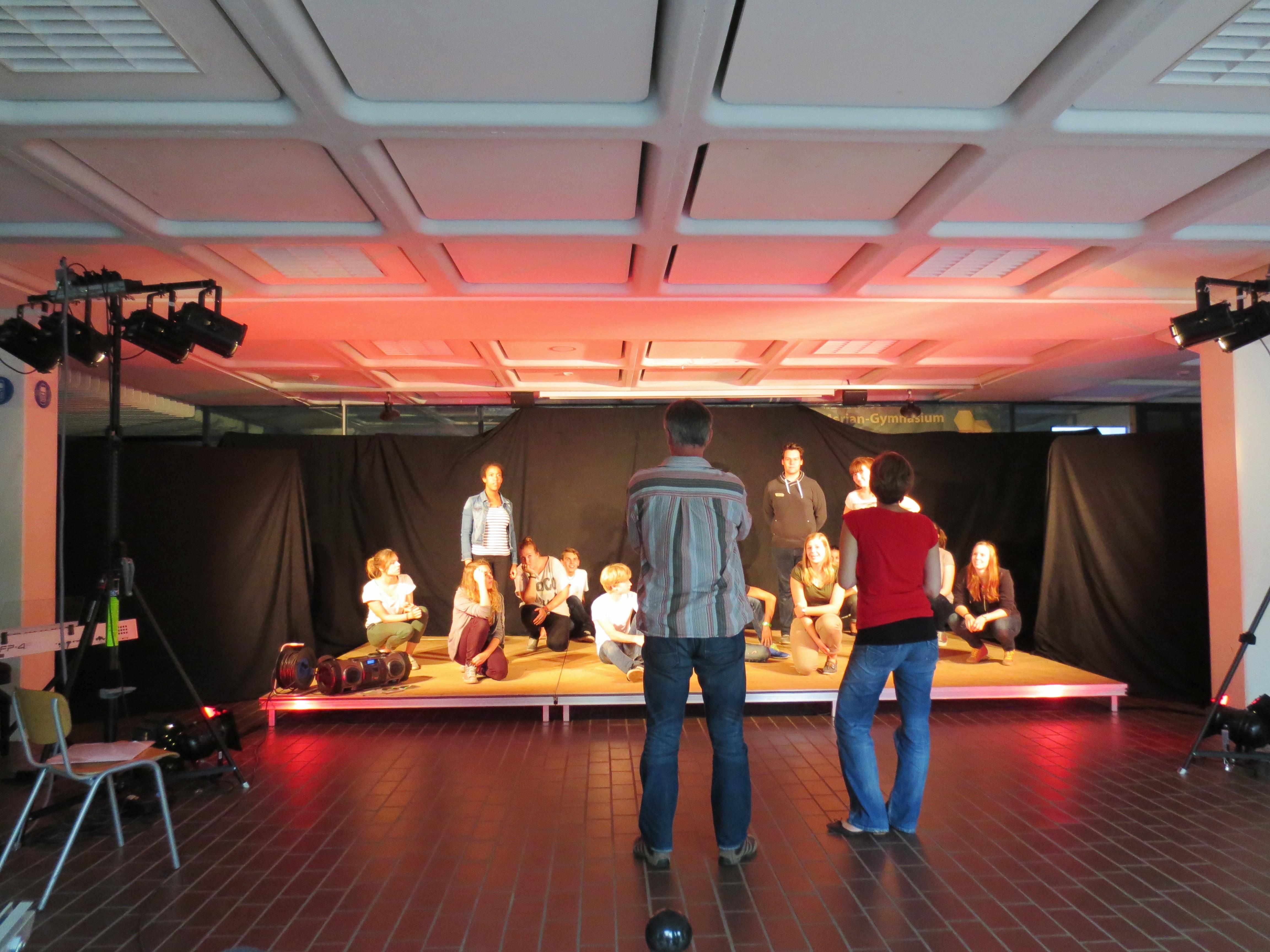 Improtheater selbst ausprobieren: Workshop mit 4gewinnt am 29.3.