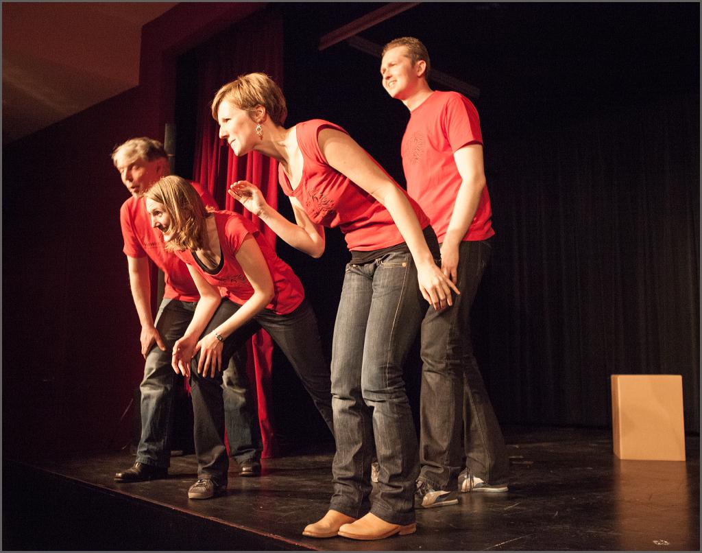 Fotogalerie: Impro-Show im Roten Saal