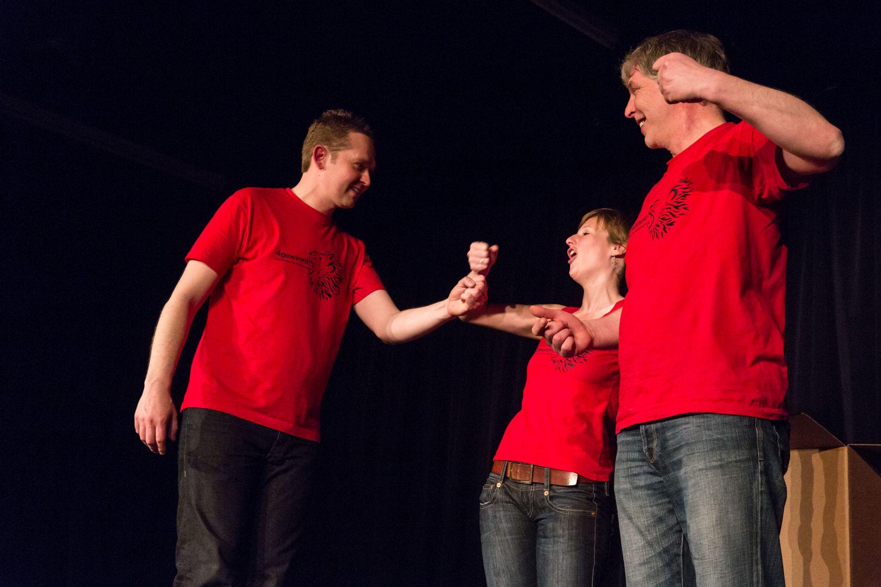 Fotogalerie Teil 2: Impro-Show im Roten Saal