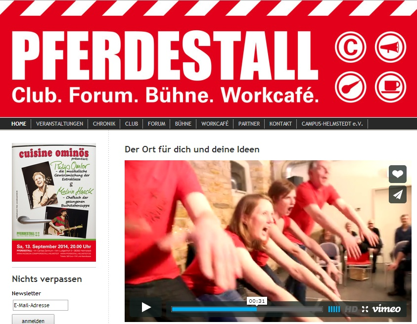 VIDEO: 4gewinnt im offiziellen Imagespot des Pferdestalls in Helmstedt