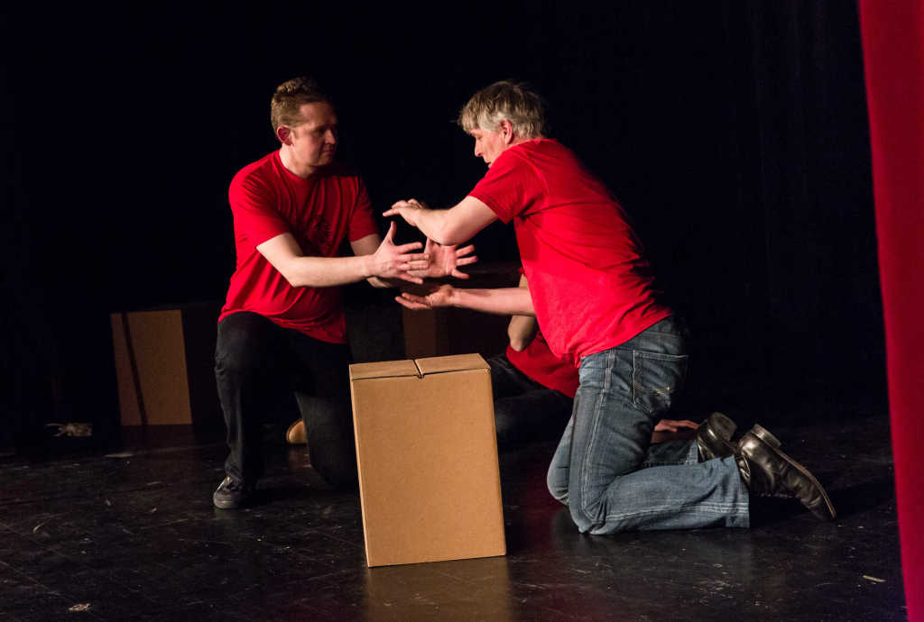 Fabian und Thomas Roter Saal