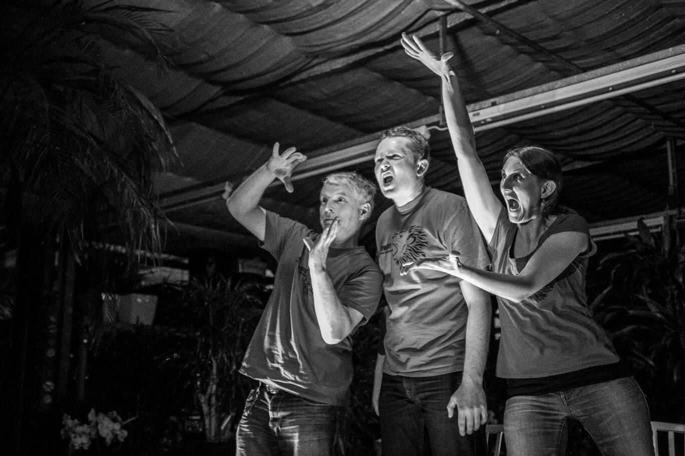 Fotogalerie zu Impro im Regenwald