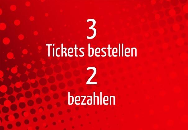 Bring a friend: 3 Freunde/innen mit Bonus – Ab jetzt für die Shows 2019 verfügbar