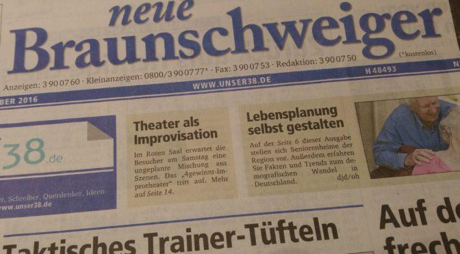Presseartikel: Neue Braunschweiger Zeitung