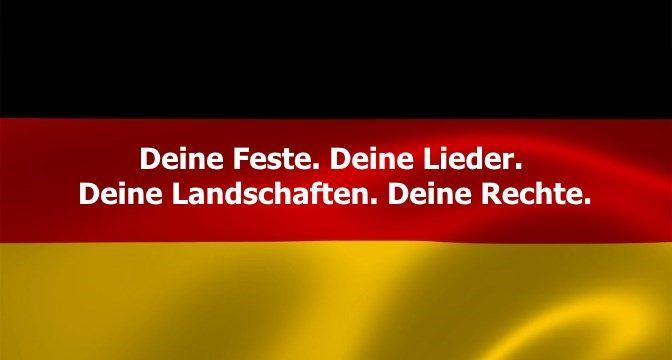 Premiere im Roten Saal: Schwarz-Rot-Gold. Die Deutschlandshow