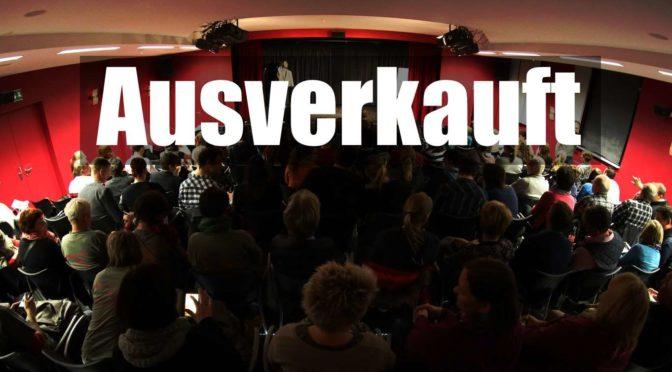 AUSVERKAUFT! Unsere Revival-Show am Samstag wird vor vollem Haus stattfinden – Wir freuen uns!