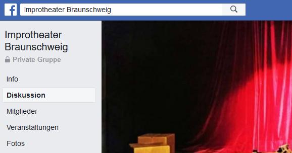 Neue Facebook-Gruppe für Improspieler*innen der Region Braunschweig