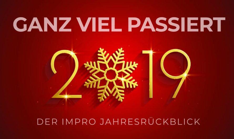 In 3 Tagen noch dabei sein: 4gewinnt Improtheater-Show: Ganz viel passiert – der Impro-Jahresrückblick im Das KULT