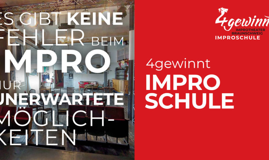 Wir sind stolz! 4gewinnt Improschule eröffnet im Januar