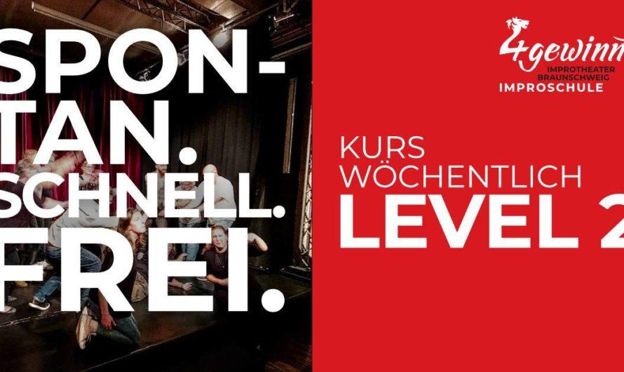 Nur noch 5 freie Plätze – Improvisieren lernen mit einem Workshop: Improschule Level 2 Kurs (7 Termine, wöchentlich Di. 19:15-20:45 Uhr vom 21.01.-03.03.) am Dienstag 21.01.2020 in Braunschweig