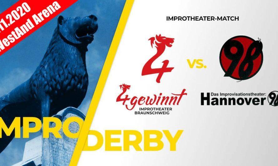 Impro-Derby Braunschweig-Hannover am 28.11.2020 wird in die westand-Mehrzweckhalle verlegt