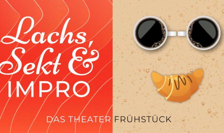 Nur noch 28 freie Plätze – In 3 Wochen nicht verpassen: Lachs, Sekt & Impro. Das Theater-Frühstück. am Sonntag 11.10.2020 in Braunschweig
