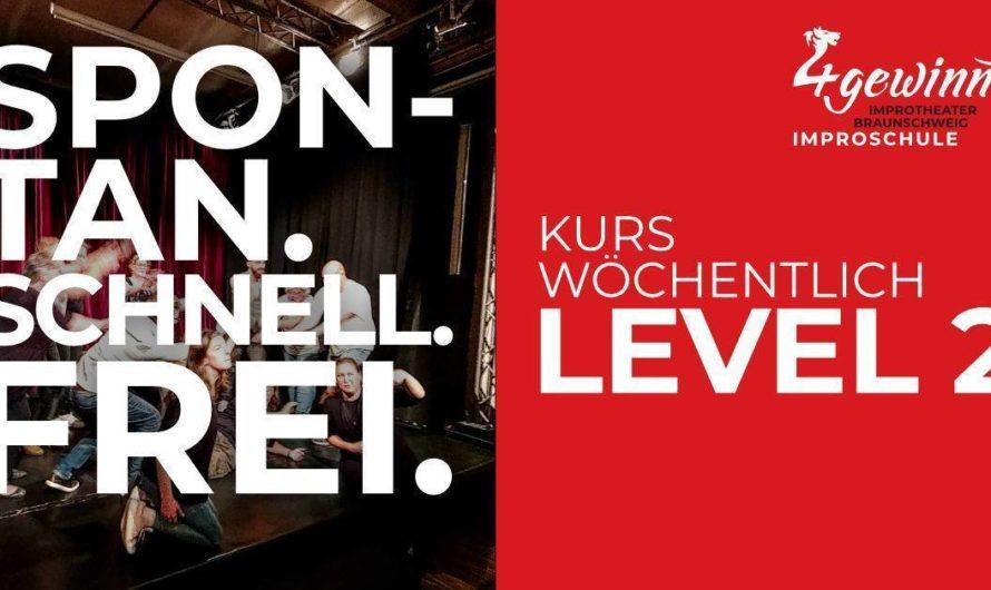 Nur noch 3 freie Plätze – Improvisieren lernen mit einem Workshop Improschule Level 2.a Kurs (10 Termine, wöchentlich Di. 17:30-19:15 Uhr) – Start sobald möglich am Dienstag 20.04.2021 in Braunschweig