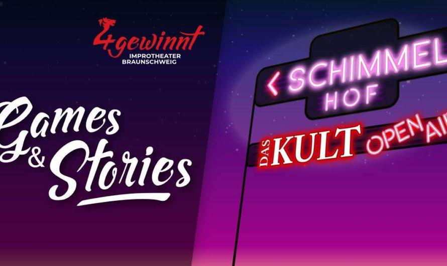 In 3 Wochen nicht verpassen: Impro Open Air am KULT-Theater am Samstag 17.07.2021 in Braunschweig