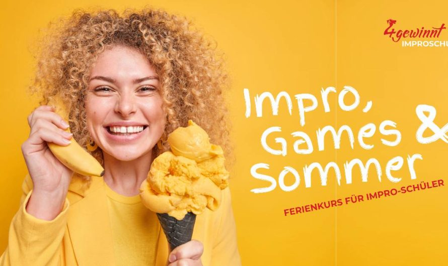 Nur noch 1 freie Plätze – Improvisieren lernen mit einem Workshop Ferienkurs für Impro-Schüler am Samstag 28.08.2021 in Braunschweig