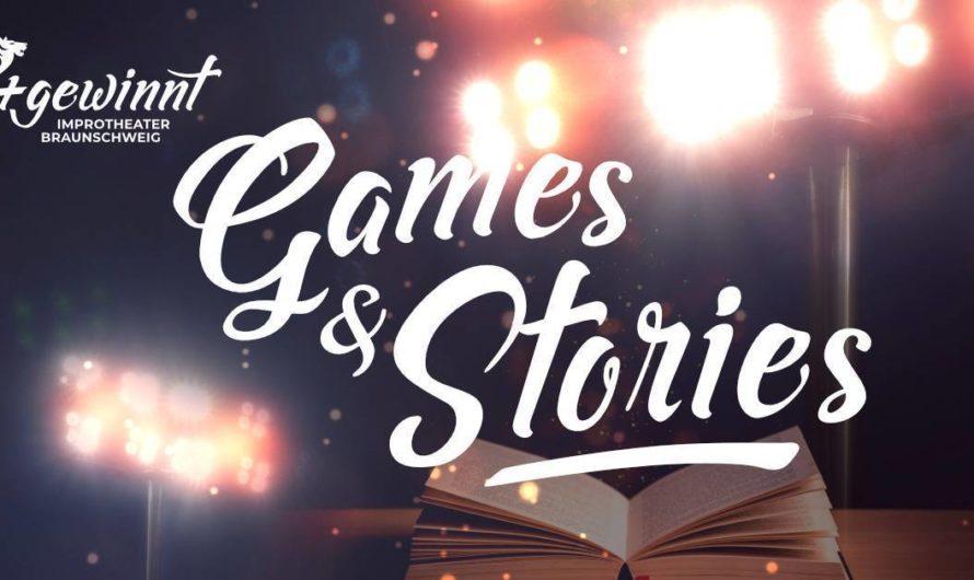 Jetzt schon ausverkauft: Games & Stories Show am 09.09.2021